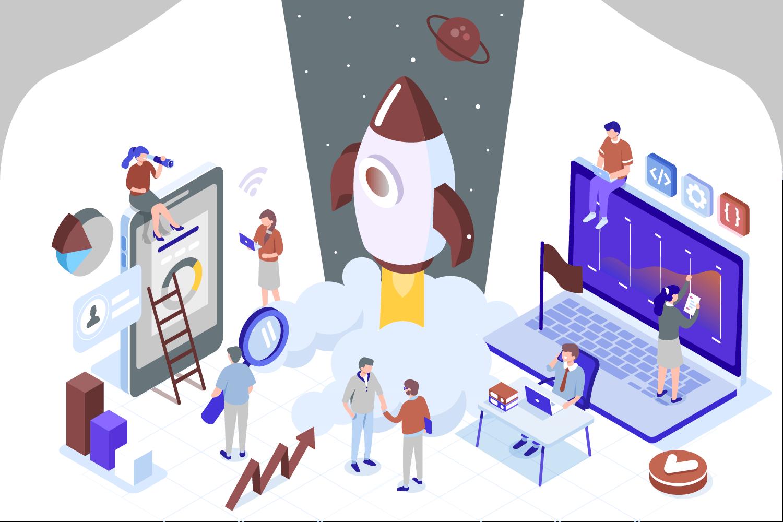 Start-Up Beratung Grafik