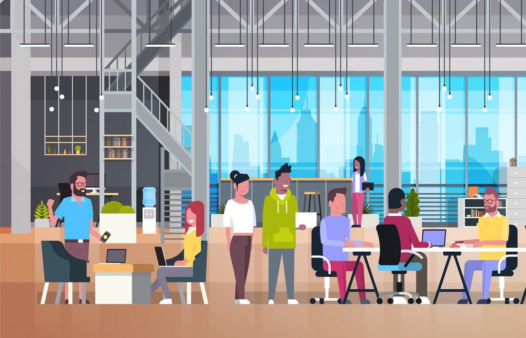 Die Bürokonzepte der Zukunft